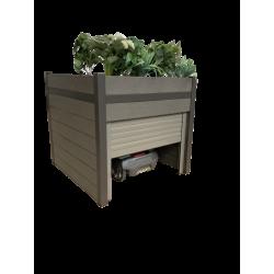 Abri robot - jardinière WPC...