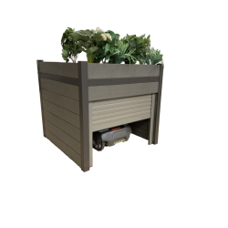 Robot garage - WPC planter...